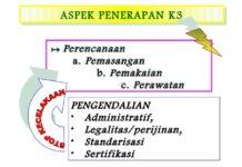 Isi dari Penerapan perencanaan Keselamatan dan Kesehatan Kerja (K3)