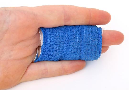 cara merawat jari tangan saat bekerja