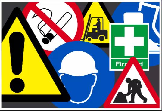 menentukan rambu rambu keselamatan kerja